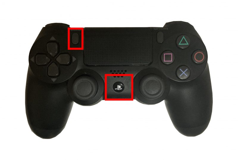 PS4コントローラ(DUALSHOCK)