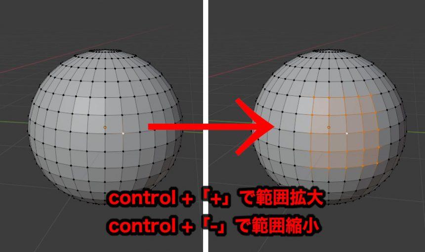 control + 「+」で範囲拡大control + 「ー」で範囲縮小